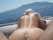 ass babe blonde bus busty fuck outdoor ride