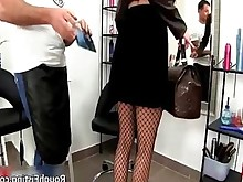 foot-fetish high-heels juicy posing