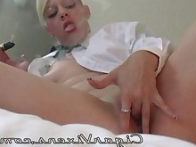 blonde masturbation nipples smoking tattoo