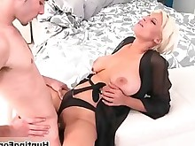 blonde bus busty fuck hardcore horny mature milf really
