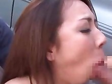 blowjob crazy hardcore japanese juicy kiss outdoor public sucking