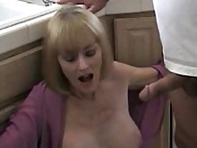 blonde blowjob handjob mammy milf