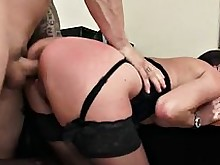 blowjob boss brunette hardcore hot milf office