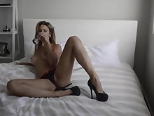 amateur blonde milf smoking