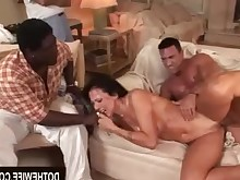black blowjob brunette big-cock couple hardcore housewife innocent mammy