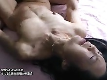 creampie fuck japanese mature slender wife