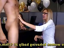 amateur blowjob drunk handjob hd mammy milf office party