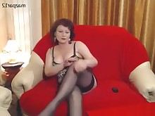 hot mammy mature milf smoking